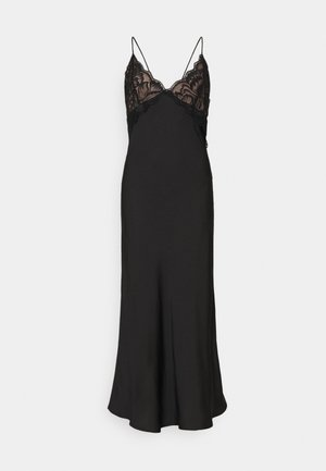 NIGHT DRESS WOVEN STELLA - Nachthemd - black