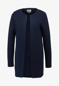 Vila - VINAJA NEW LONG - Cardigan - dark blue