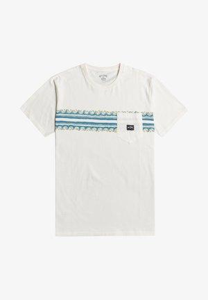 SPINNER  - Print T-shirt - off white