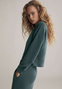 OYSHO - Sweatshirt - green - 3