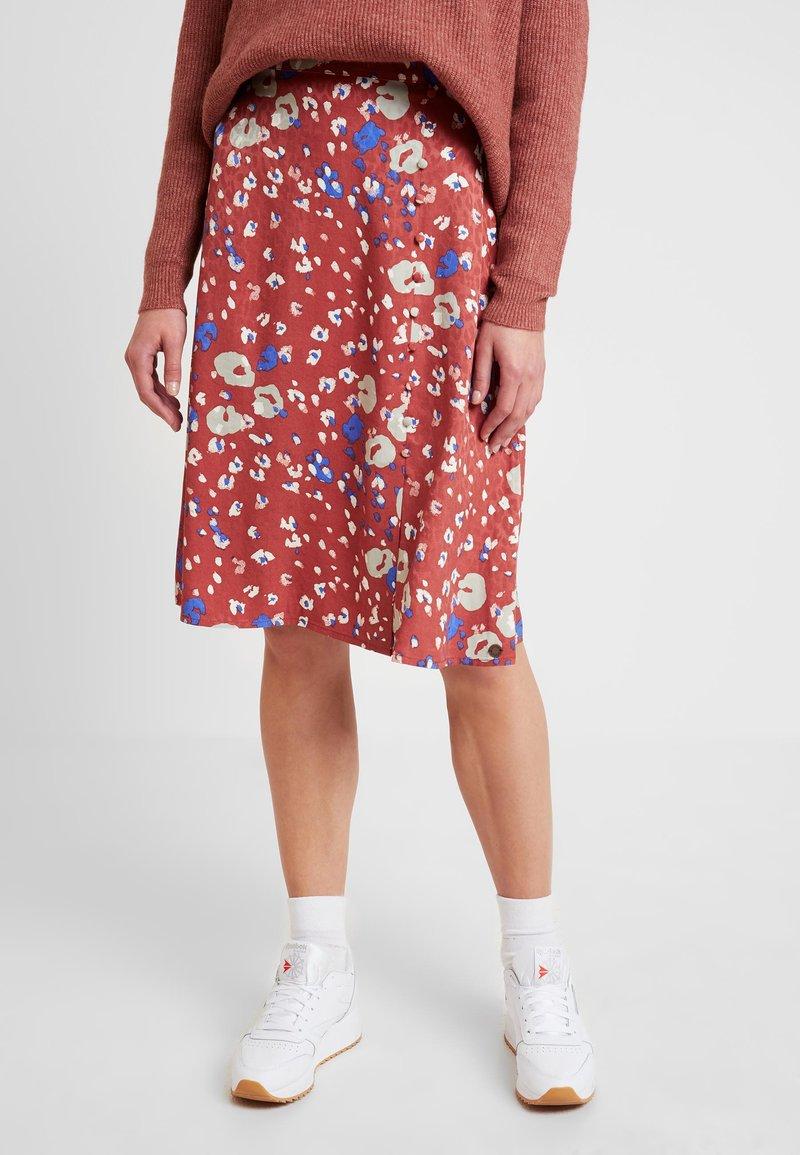 Nümph - NUMEDRIE SKIRT - Áčková sukně - mahogany