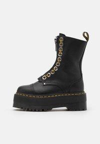 SINCLAIR HI MAX - Platform ankle boots - black pisa