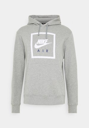 HOODIE AIR - Luvtröja - grey heather/white