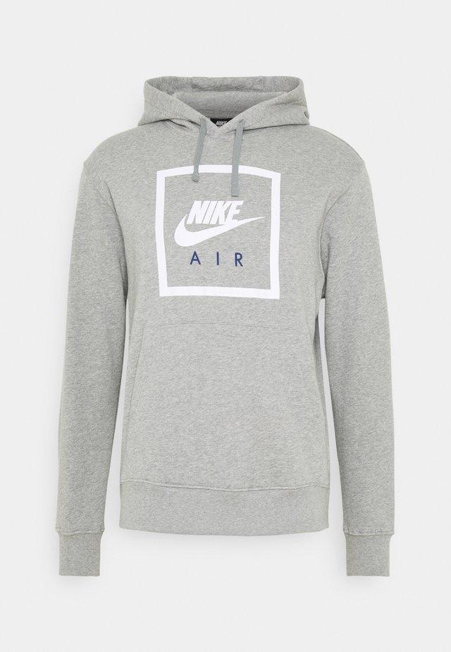 HOODIE AIR - Hoodie - grey heather/white