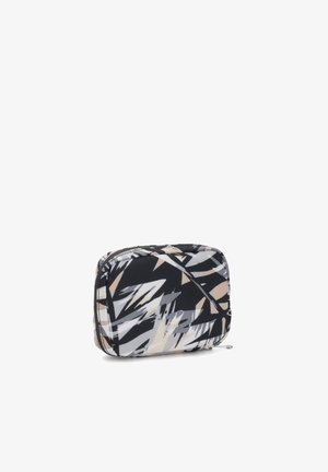 LAJAS - Wash bag - black/white/grey