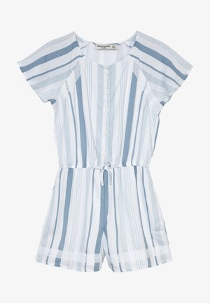 Overall / Jumpsuit - blue/white