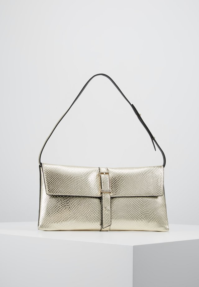 WINGED SHOULDER BAG - Handbag - beige