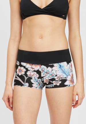 GRENADA BOTTOM - Zwemshorts - black with red