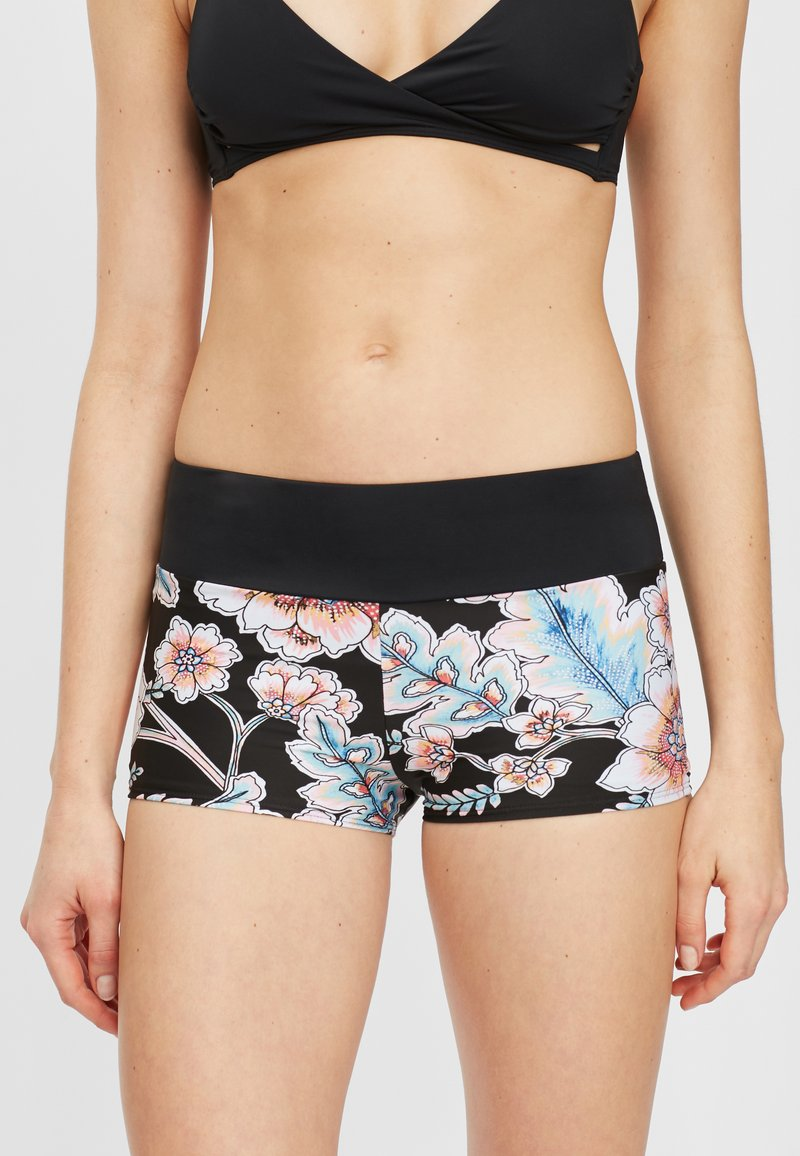O'Neill - GRENADA BOTTOM - Surfshorts - black with red