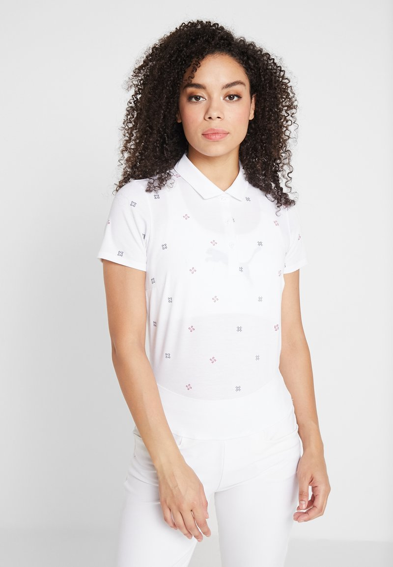Puma Golf - DITSY - Poloshirts - bright white