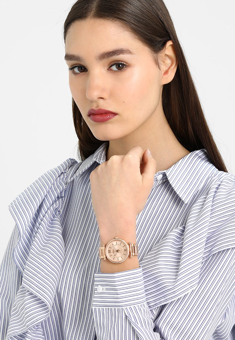 Fossil - CARLIE - Orologio - rose gold-coloured