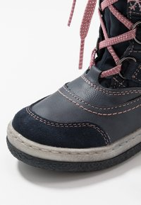 Lurchi - ALPY-TEX - Winter boots - navy/rose - 2