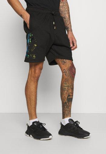 UNISEX - Shorts - black reflective