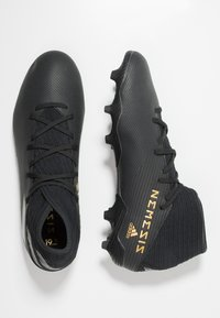 adidas Performance - NEMEZIZ FOOTBALL BOOTS FIRM GROUND - Voetbalschoenen met kunststof noppen - core black/utility black - 1
