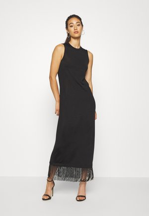 EDWIN DRESS - Maxi dress - schwarz
