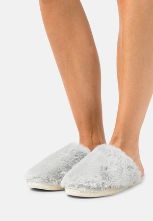 CHAUSSON COZY - Slippers - gris
