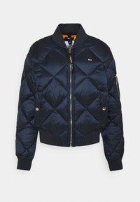 Tommy Jeans - TJW DIAMOND QUILTED BOMBER - Bomber Jacket - twilight navy - 4
