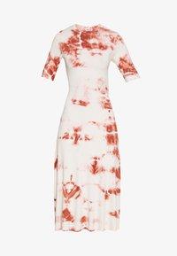 EDITED - TAYLA DRESS - Žerzejové šaty - cedar wood/white swan - 4