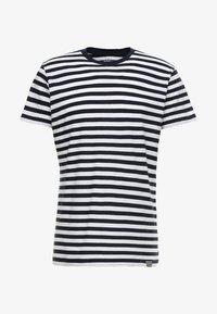 MIDI THOR - Print T-shirt - navy/white
