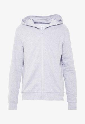 ONSORGANIC REG  ZIP HOODIE  - Zip-up hoodie - medium grey melange