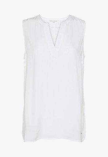 NECK DETAIL - Blouse - off white