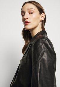 House of Dagmar - CHARLOTTE  - Leather jacket - black - 4
