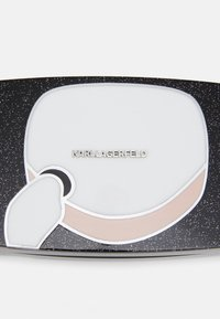 KARL LAGERFELD - IKONIK GLITTER MINAUDIERE - Clutch - black - 5