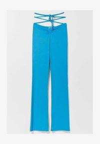 Bershka - Trousers - blue - 5