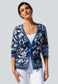 Alba Moda - Cardigan - blau/off-white - 0