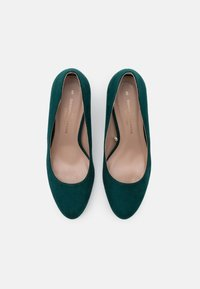 Dorothy Perkins Wide Fit - WIDE FIT DENVER ROUND TOE - Classic heels - teal - 5