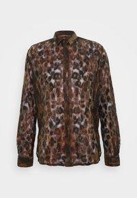 JUNO SHIRT - Shirt - black/gold