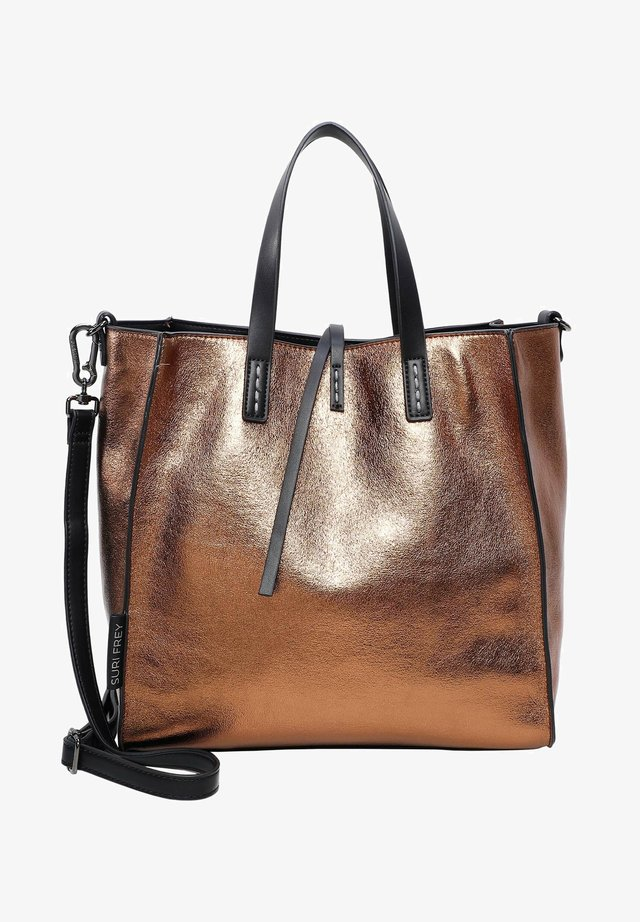 BLACK LABEL WENDY - Tote bag - bronze