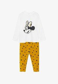 Mango - Pyjama set - złamana biel - 0
