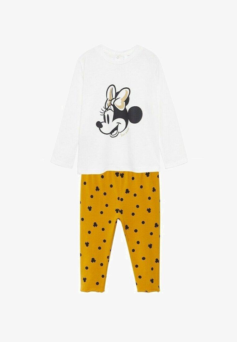 Mango - Pyjama set - złamana biel