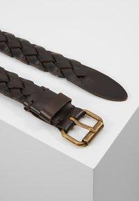 Marc O'Polo - LADIES - Flettet belte - brown - 2