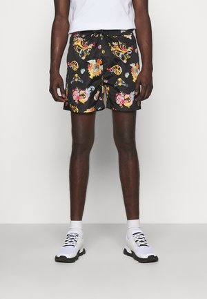 PRINT CAMEO ALLOVER - Shorts - black