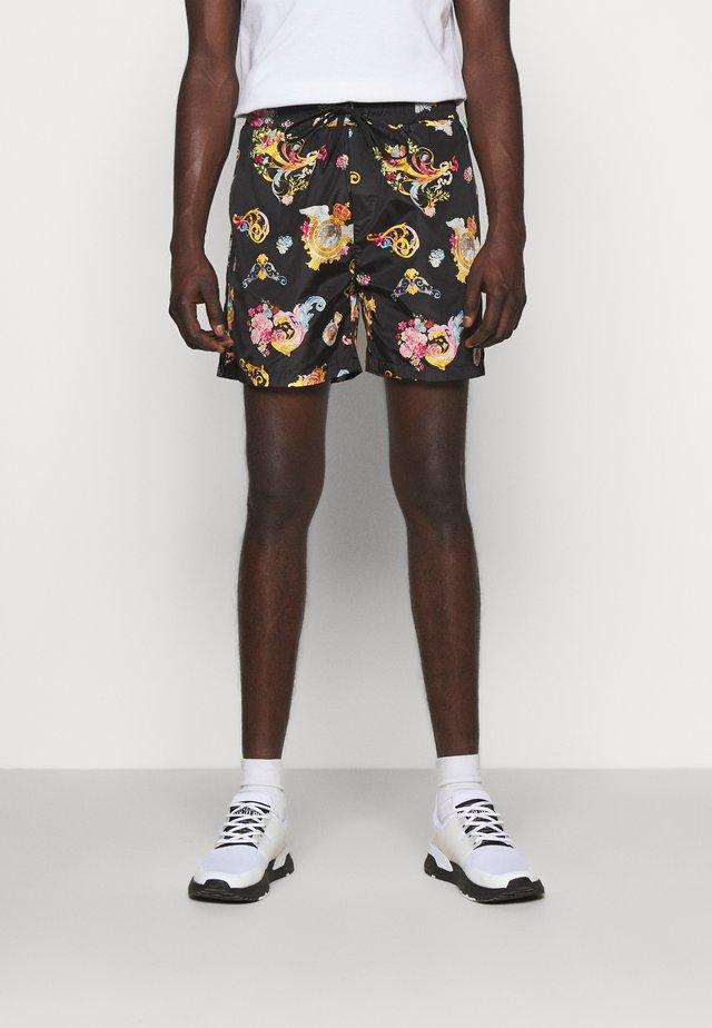 PRINT CAMEO ALLOVER - Shorts - black