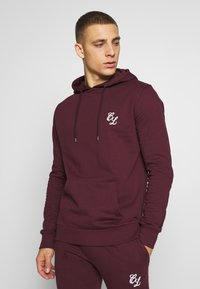 CLOSURE London - SIGNATURE TRACKSUIT  - Hoodie - port - 2