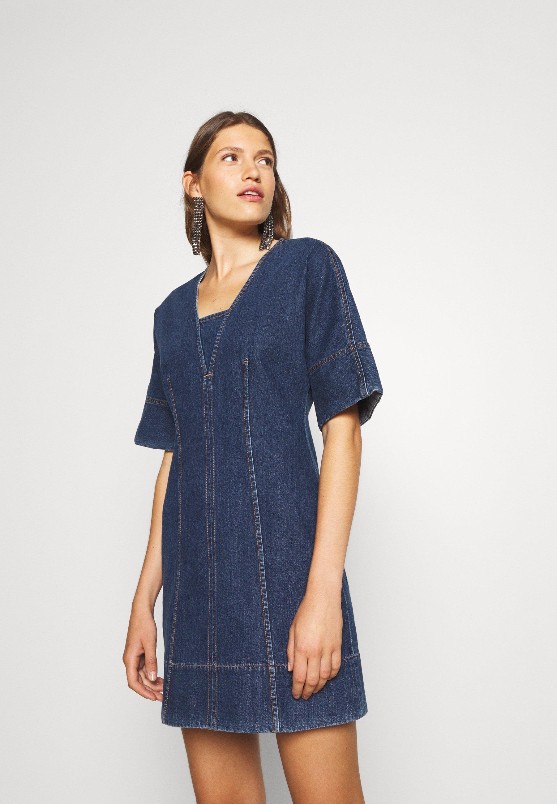Femme LUSSO - Robe en jean