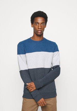CREWNECK WITH CUTLINE - Sweatshirt - sky captain blue