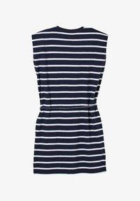 s.Oliver - ROBE À MOTIF RAYÉ - Jersey dress - dark blue stripes - 0