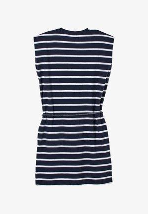 ROBE À MOTIF RAYÉ - Jersey dress - dark blue stripes