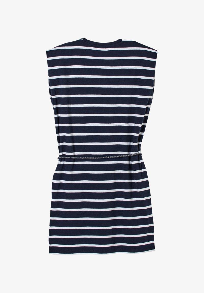 s.Oliver - ROBE À MOTIF RAYÉ - Jersey dress - dark blue stripes