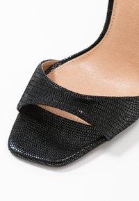 Topshop - SILVY SKINNY PART - Sandály na vysokém podpatku - black - 2