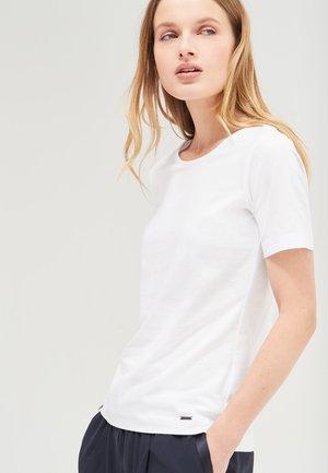 TESS - Basic T-shirt - white