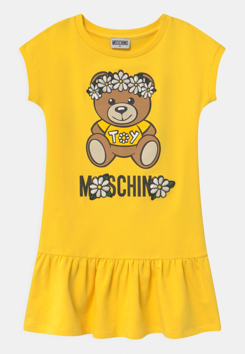 MOSCHINO - Day dress - cyber yellow