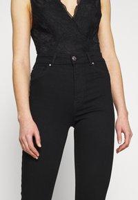 ONLY - ONLOPTION LIFE SUPER - Jeans Skinny Fit - black - 4