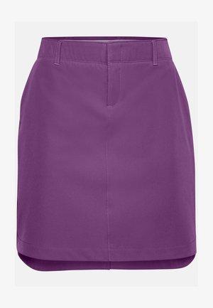 UA LINKS WOVEN SKORT - Sports skirt - baltic plum