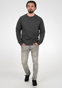Blend - SWEATSHIRT ALEX - Sweatshirt - charcoal