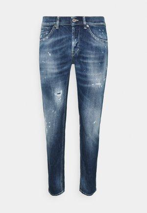 PANTALONE GEORGE - Slim fit jeans - light blue